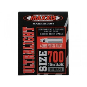 Камера 700x18/25c вело нип.Maxxis Welter Weight 0.90mm IB81557000 (IB81557000)